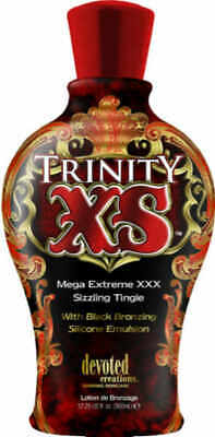 Devoted Creations Trinity XS Extreme Tingle Bronzer 12.25 oz Tanning Lotion New