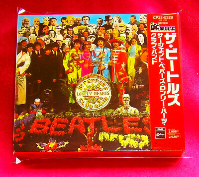 The Beatles Sgt. Pepper's Lonely Hearts Club Band CD JAPAN CP32-5328