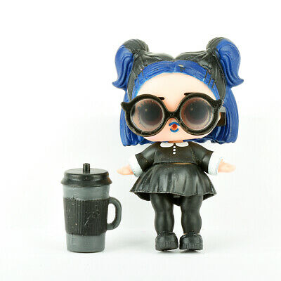 L.O.L. LOL Surprise! Confetti Pop Series 3 Dusk Doll Figure Black/Blue Hair Girl