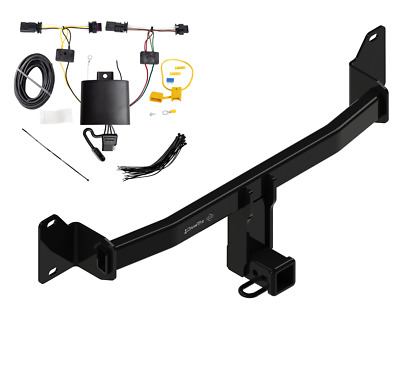 TRAILER TOW HITCH For 2018 BMW X2 All Styles w/ Wiring Harness Kit on