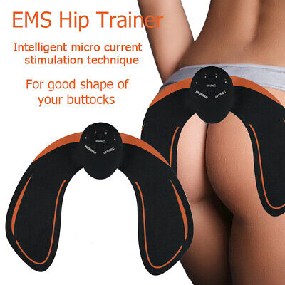 EMS Hip Trainer Muscle Stimulator Fitness Buttocks Lifting Slimming Wonder Booty