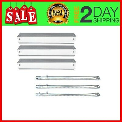 Parts Kit DG152 Replacement Chargriller King Griller Gas Grill Burner Heat Plate