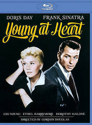Young at Heart Blu-ray Disc 2014 Doris Day Frank Sinatra Gig Barrymore Malone