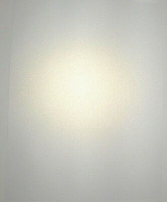 100 A4 Ice White Gold Pearlescent Shimmer Craft Card Paper 160gsm Double Sided!