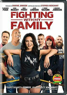 Fighting With My Family DVD. Sealed with free delivery. Region 2