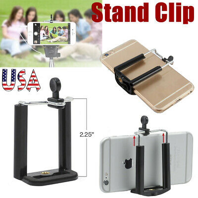 Camera Stand Clip Bracket Monopod Mount for Tripod Holder Adapter For Cell Phone