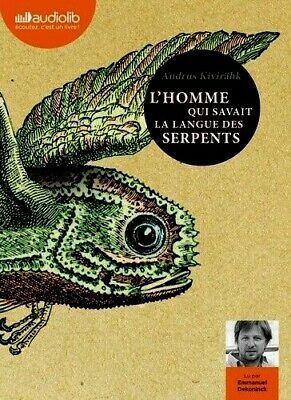 L'HOMME QUI SAVAIT LA LANGUE DES SERPENTS*KIVIRÂHK*7/2019**Neuf SS film*2 CD MP3