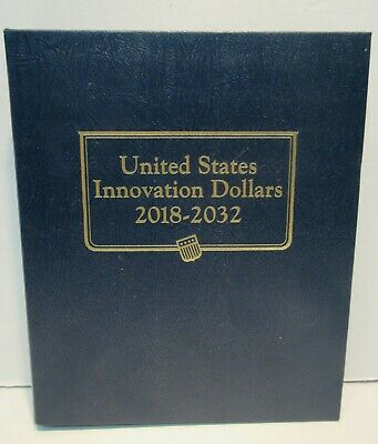 United States Innovation Dollars 2018 - 2032 2 Page Whitman Classic Album #4711