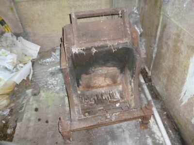 Vintage Cast Iron Hearth,Dog Grate Removed From A Nineteen Twenties Bungalow