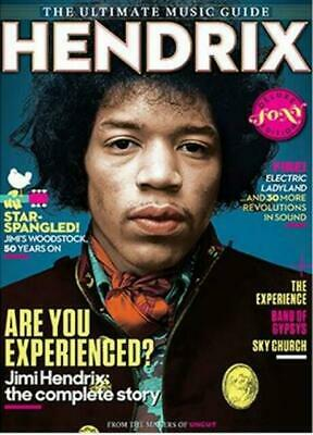 Jimi Hendrix - The Uncut Ultimate Music Guide - Deluxe Foxy Edition...new