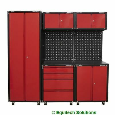 Sealey Tools APMS80COMBO3 Modular Storage System 665mm American Pro Red Black