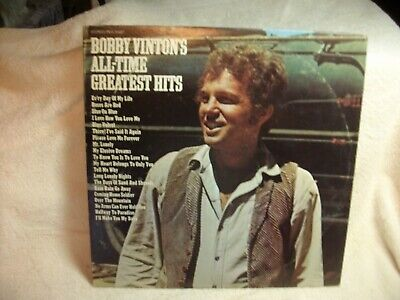 Bobby Vinton's All-Time Greatest Hits   Lp  (2-Record Set)