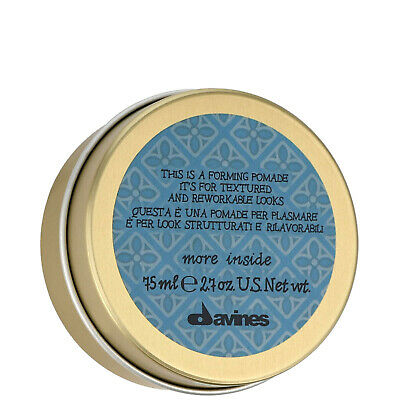 NEW Davines More Inside This Is A Forming Pomade 75ml