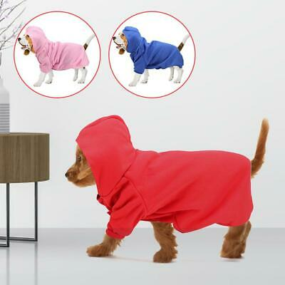 S-XXL Pet Winter Coat Dog Warm Clothing Casual Cat Puppy Hoodie Sweater