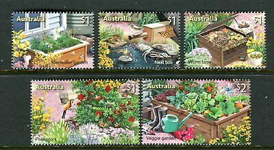 2019 In The Garden (SCM) Stamp Collecting Month - MUH Set of 5 Stamps