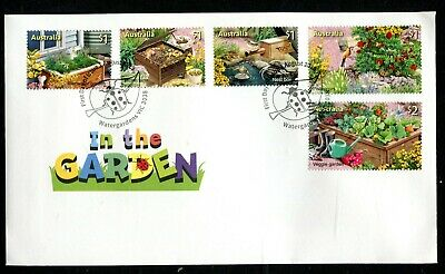 2019 In The Garden (SCM) Stamp Collecting Month (Gummed Stamps) FDC