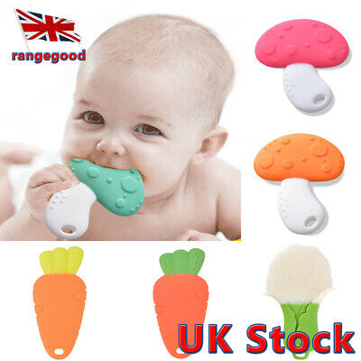 cm Comfort For BabyToddler 8.5x7 Chewable Teething Toy Silicone Bear Teether