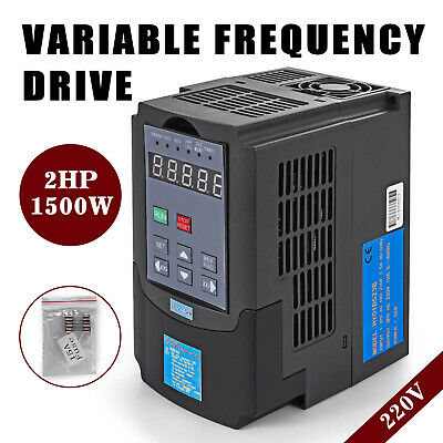 Variable Frequency Drive Inverter CNC Motor Speed VFD Single To 3 Phase 220V