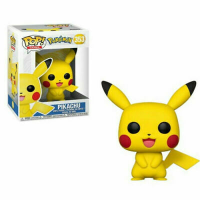 Funko Pop Games #353 Pokemon Pikachu Vinyl Figure with Box Toy Pikachu