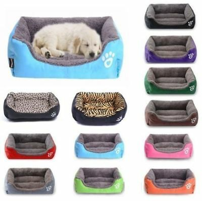 Dog Cat Pet  Bed Puppy Cushion House-Soft Warm Kennel Mat Blanket Washable