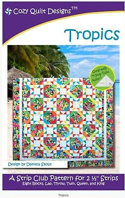 Tropics Quilt Pattern By Cozy Quilt Patterns Quilting Sewing