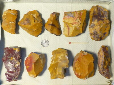 55.000Y.o: Ace 10 Jaspis Artifacts Fontmaure Neanderthal Paleolithic Mousterian