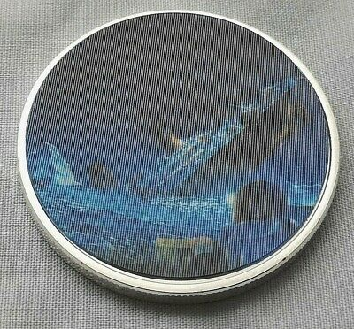 Titanic Silver 3D Coin Ship Disaster White Star Line Film TV Maiden Voyage 1912