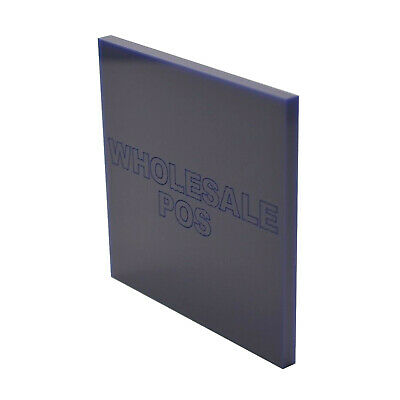 Navy Blue Acrylic Perspex® Sheet / Blue 744 / 5mm Thickness / Custom Cut to Size
