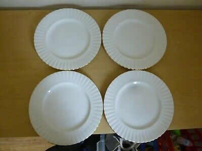4 Royal Albert Val D'Or Dinner Plates - 1st Quality - Super Condition!