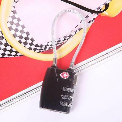 Hot Code Padlock 3Dial TSA Approved Luggage Security Lock For Travel Suitcase ^