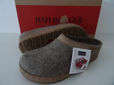 HAFLINGER Grizzly Torben 39/L 8 New! Torf/Earth