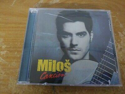 Milos Cancion Classical Guitar Music Cd Album Disc 13 Tracks Universal Decca
