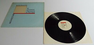 OMD Orchestral Manoeuvres In The Dark Architecture & Morality Vinyl LP  - EX