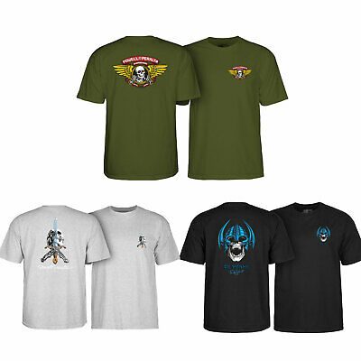 Back to School Skateboard 3-Pack T Shirts (Powell Peralta)