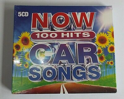 Now 100 Hits Car Songs 5 CD Album New / Sealed