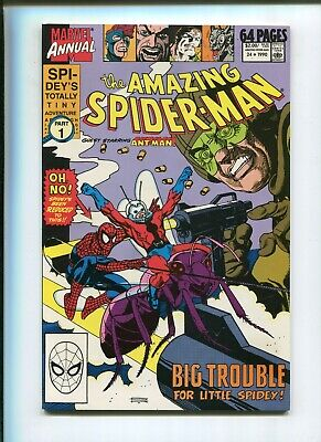 Amazing Spiderman Annual #24 (9.2) Big Trouble For Little Spidey!! 1990
