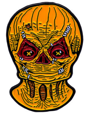 Authentic TRICK 'r TREAT Movie Sam Unmasked Enamel Pin NEW