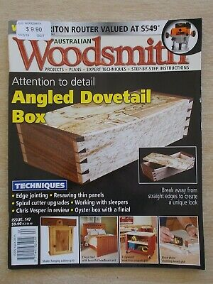 Australian Woodsmith #147~Projects~Plans~Techniques~Instructions....