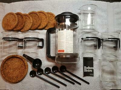 French Press Bodum Coffee Maker - Complete Set - NEW