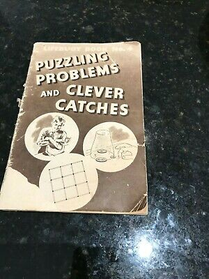 Lifebuoy Book-No 4-Puzzling Problems and Clever Catches-1930's-Gift Book-Orig.