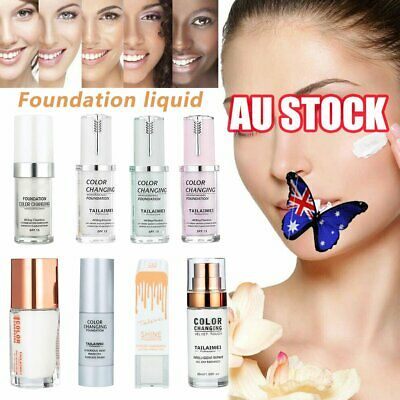 TLM Flawless Color Changing Foundation Makeup Base Face Liquid Magic Flawless QI