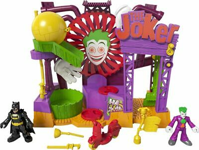 Fisher-Price Imaginext DC Super Friends Joker Laff Factory 28cm Tall - 3+ Years