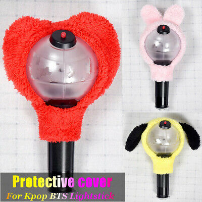 For Kpop BTS Cute Army Bomb Ver 3 Headband Lightstick Plush Head Cover Jungkook