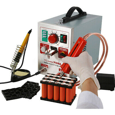 SUNKKO 709A 1.9kw Pulse Spot Welder Welding Soldering Machine for Battery