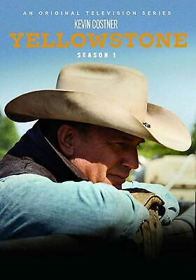 Yellowstone TV Series Complete First 1st Season 1 One BRAND NEW 4-DISC DVD SET