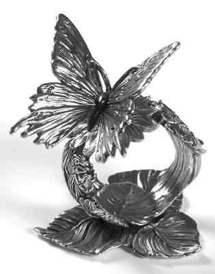 Reed & Barton 1824 COLLECTION SILVERPLATE Butterfly Napkin Ring 7023284