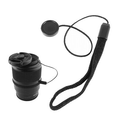 5pcs Lens Cover Cap Keeper Holder Anti-lost Rope  for DSLR Camera