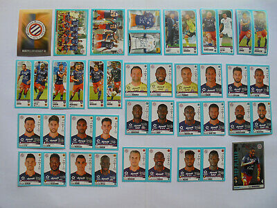 Panini Ligue 1 Ligue 2 2016 2017 Lot 23 Stickers Equipe Complete Montpellier
