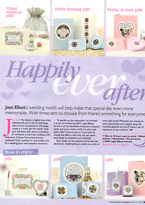 Joan Elliott Cross Stitch pattern from magazine - HAPPILY EVER AFTER