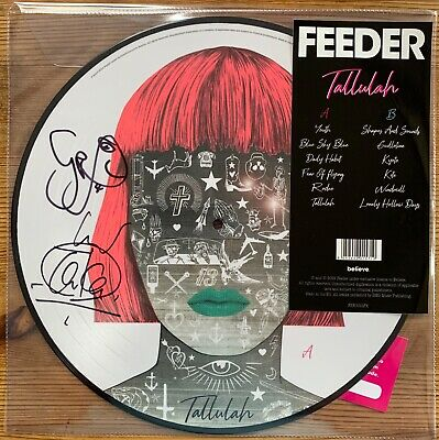 Feeder Tallulah Signed Autographed Picture Disc Vinyl Limited Edition Album New